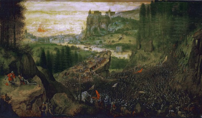 The Suicide of Saul by Pieter Bruegel the Elder