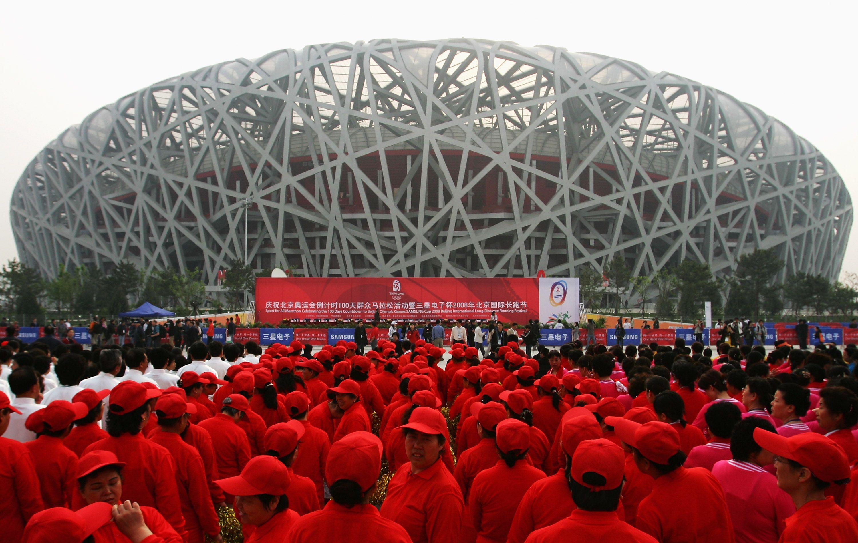 National Stadium, Beijing, China.