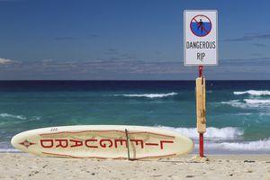 riptide warning beach