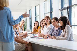 Group of women at teacher training