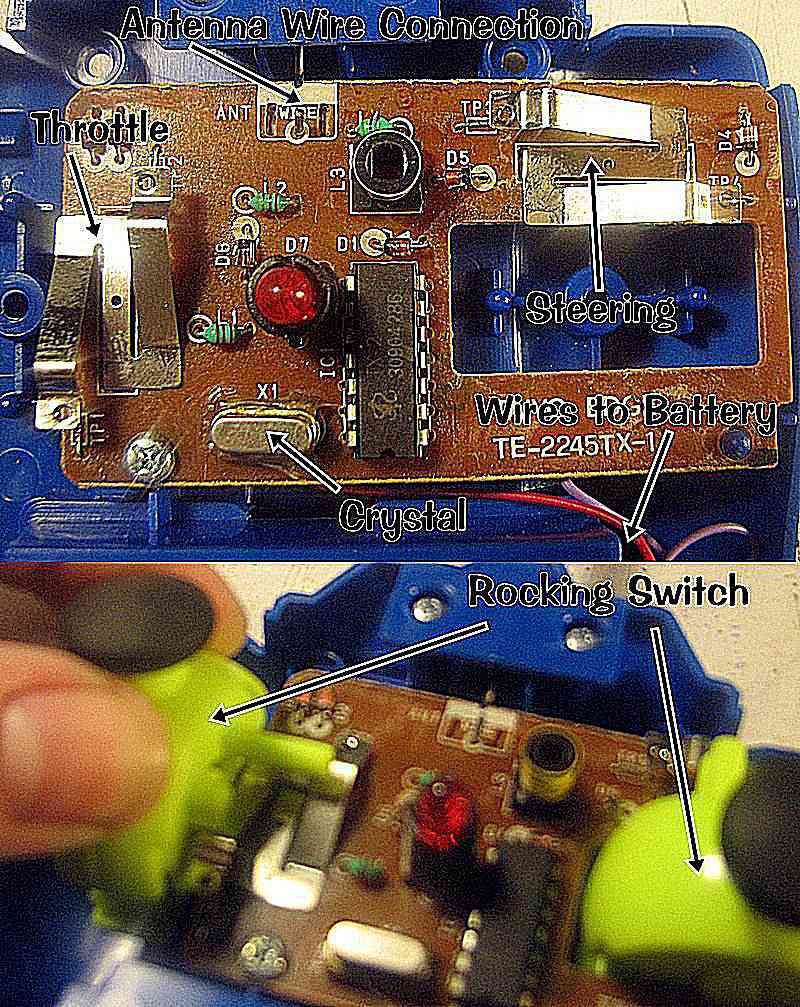 A Look Inside Radio Controlled Toy Transmitter Com Circuitdiagram Automotivecircuit Remotecontroltoycarcircuit