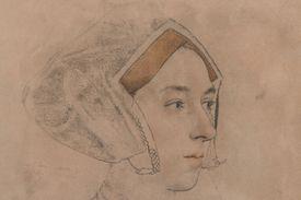 drawing of Anne Boleyn