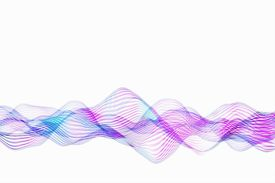Wavelength is the distance between peaks or valleys of a wave, while frequency is a measure of how quickly waves repeat.