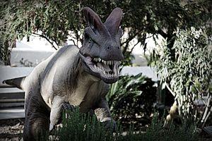 entre dinosaurios