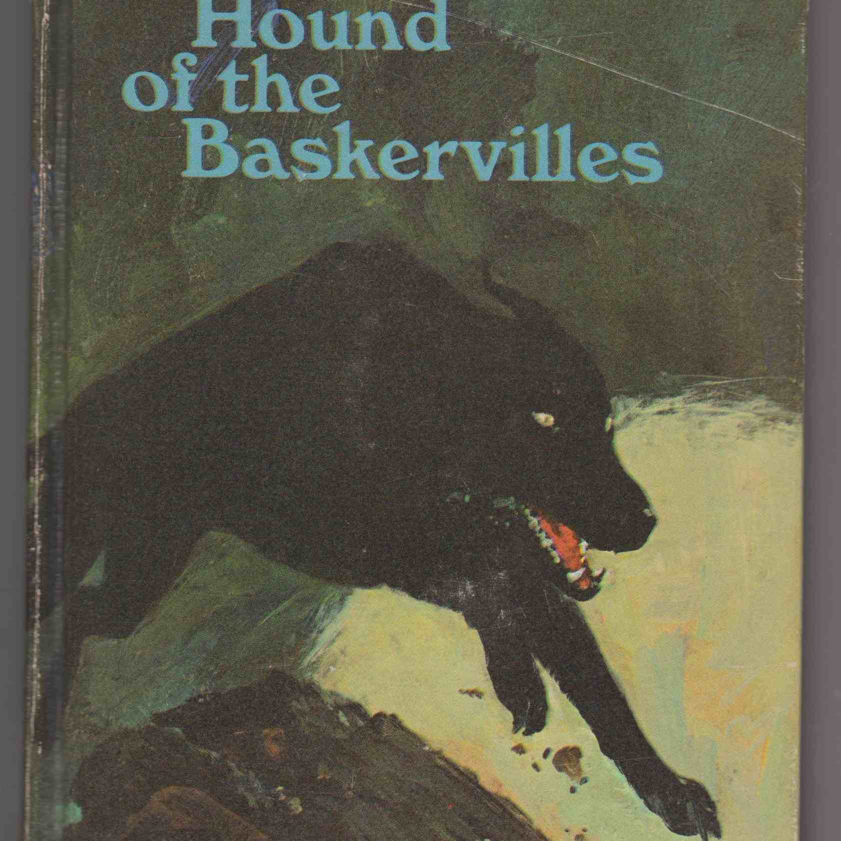 the hound of baskervilles book cover