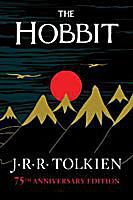 Cover art - The Hobbit, 75th anniversary deluxe paperback edition