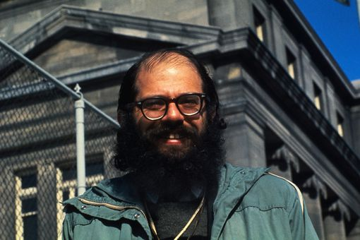 Portrait of Allen Ginsberg