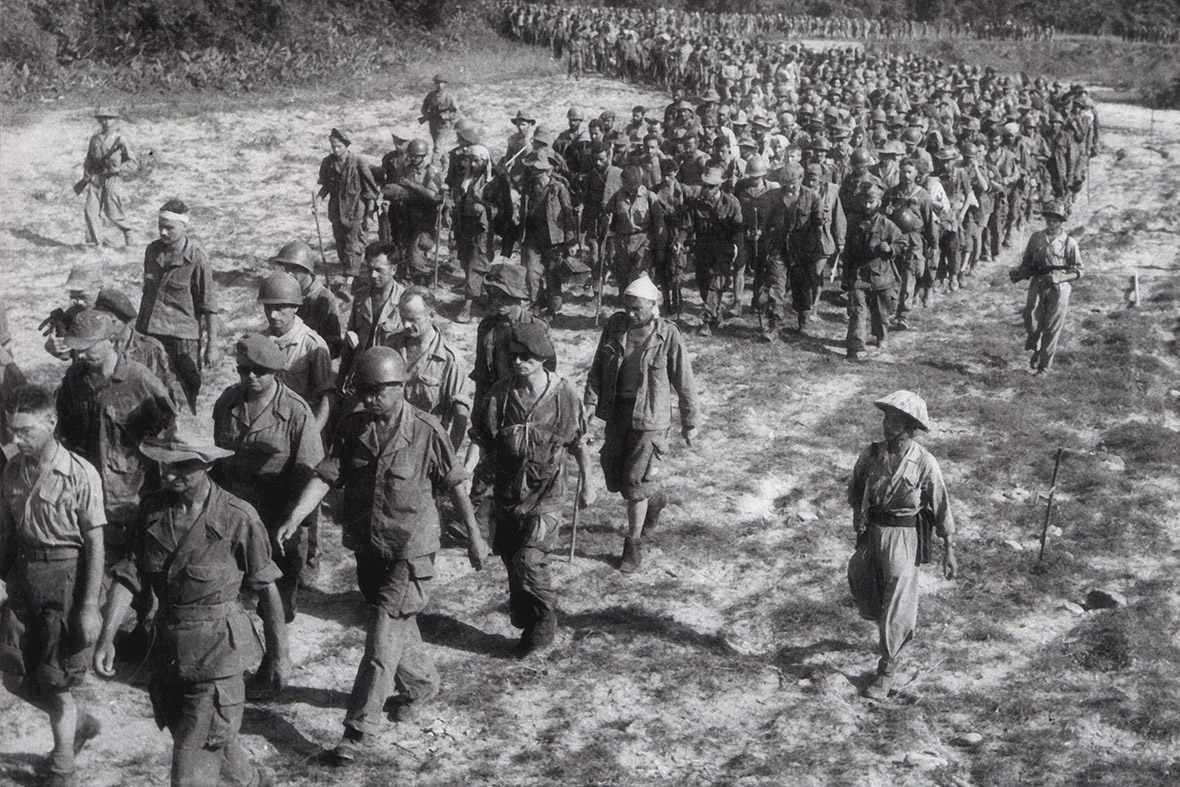 French Prisoners at Dien Bien Phu