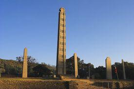 King Ezana's stele in North Africa