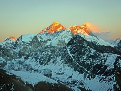 The First Men to Climb Mount Everest