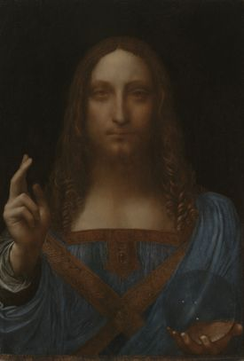 Leonardo da Vinci - Christ as Salvator Mundi, ca. 1499 onwards
