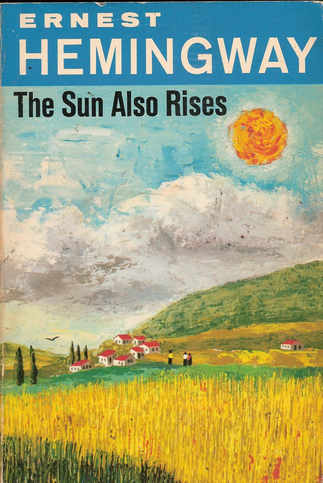 an analysis of the title of the sun also rises by ernest hemingway Jake barnes is not merely the narrator (storyteller) of the sun also rises he is also its protagonist, or main character that means that the novel is driven by his needs and desires more than those of the other characters.