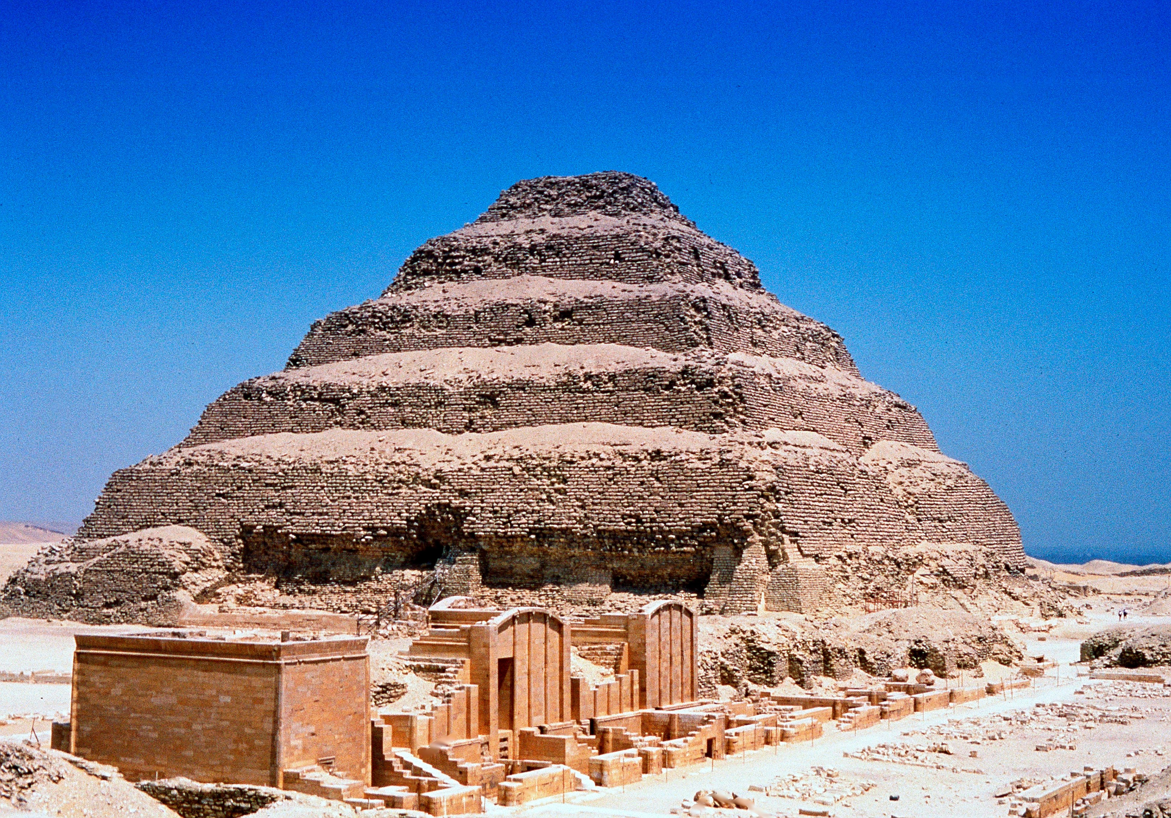 Step Pyramid of Djoser - Egypt's Oldest Pyramid