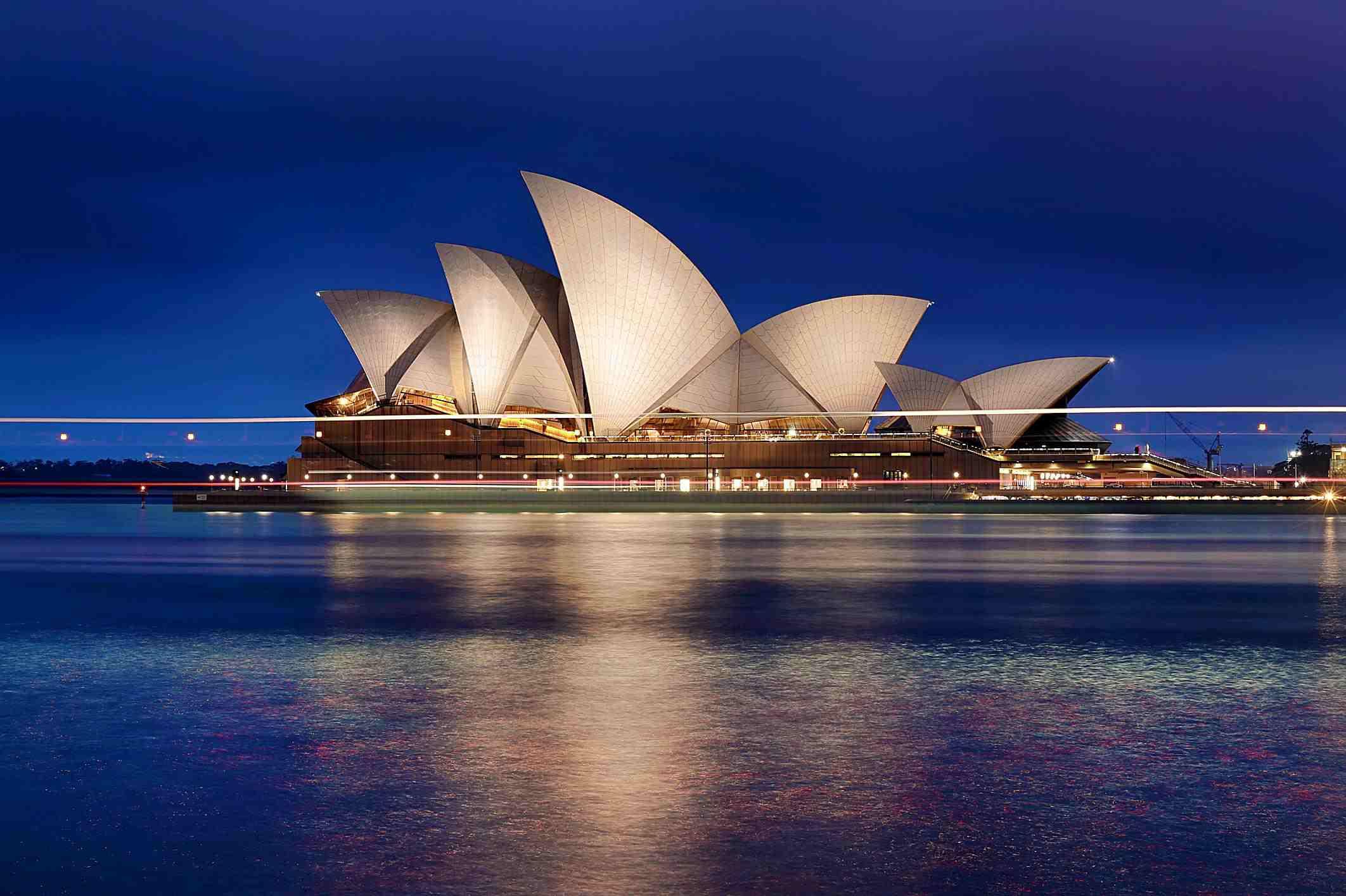 La ópera de Sidney, símbolo de Australia
