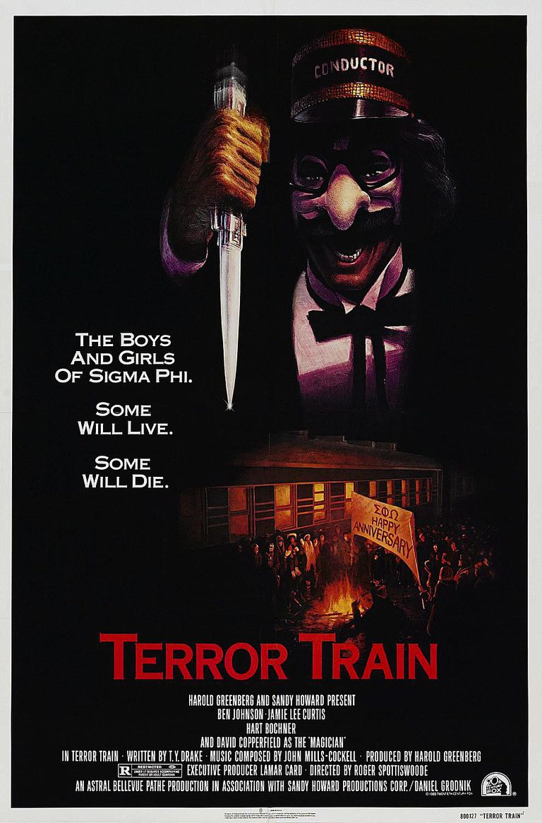 Terror Train - holiday horror movies