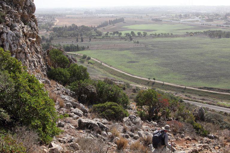 Mount Carmel Looking West into Mediterranean Coastal Plain