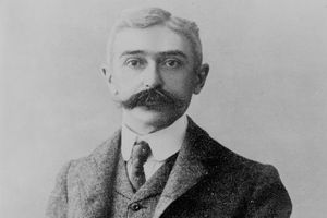 Pierre de Coubertin, founder of the modern Olympics