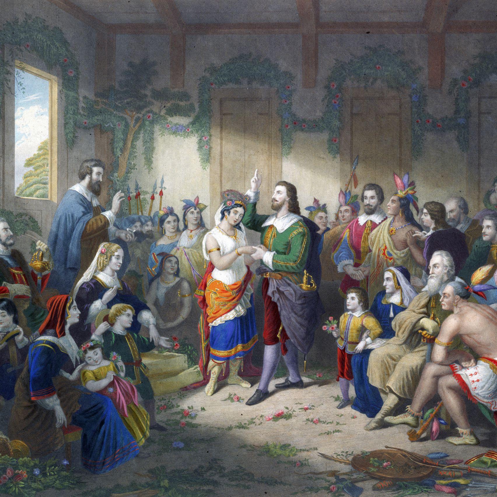 Life Of John Rolfe Husband Of Pocahontas