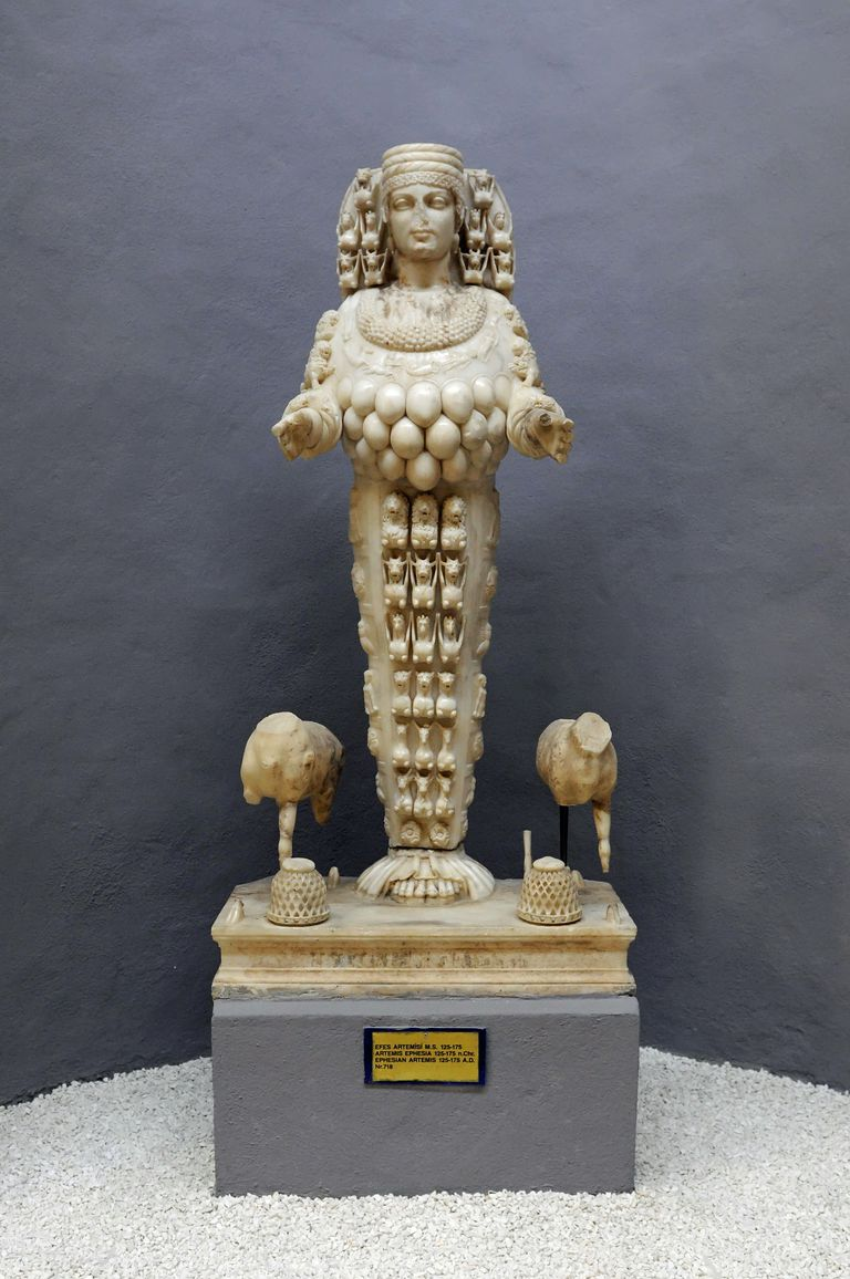 The Cult Statue Of Artemis Of Ephesus