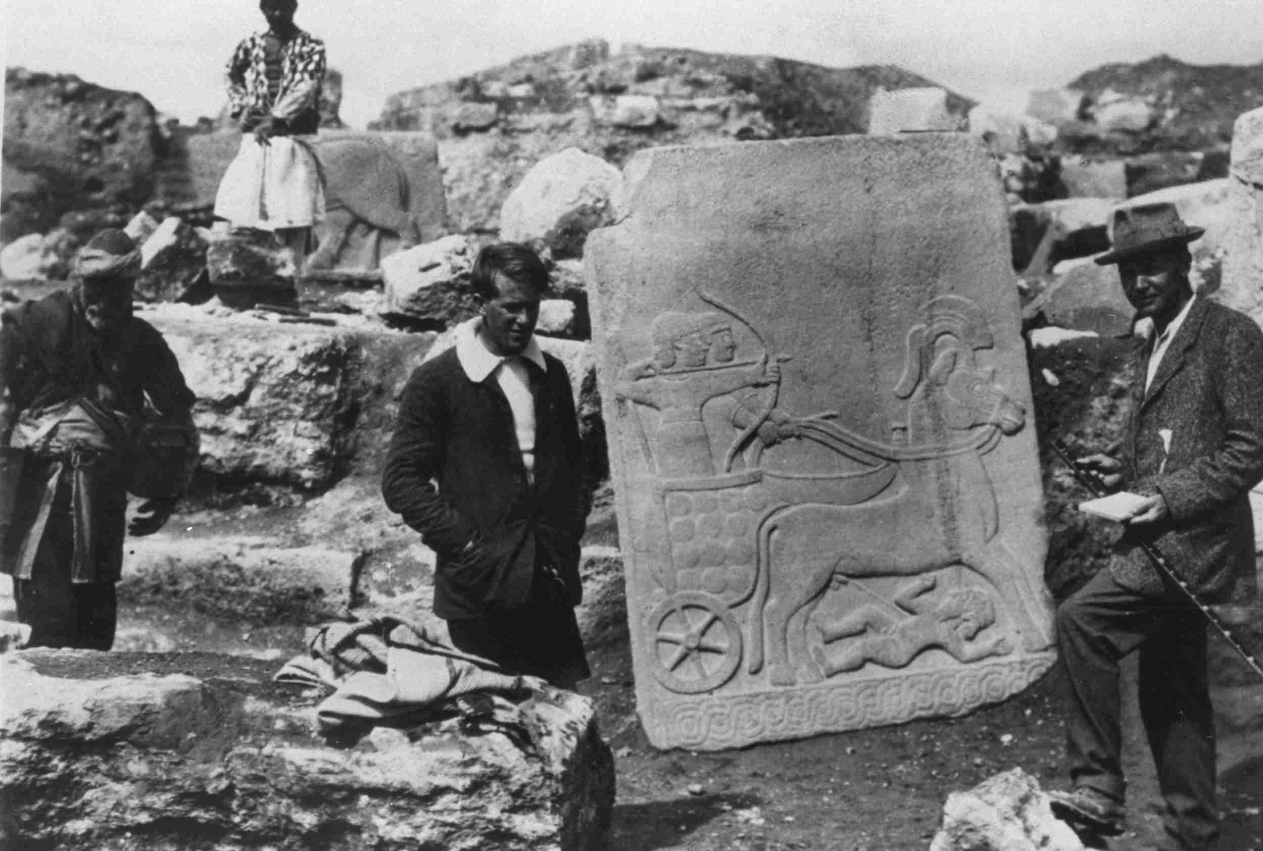 Woolley and Lawrence at Carchemish, 1913