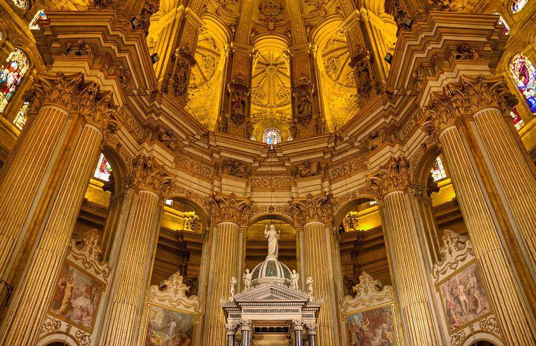 Cathedral in Málaga, Spain