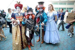 Characters From Alice in Wonderland