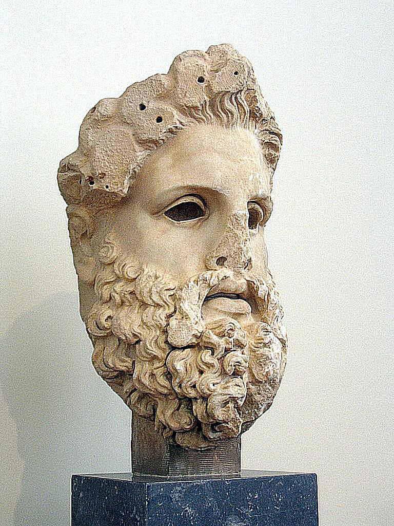 Head of Colossal Zeus