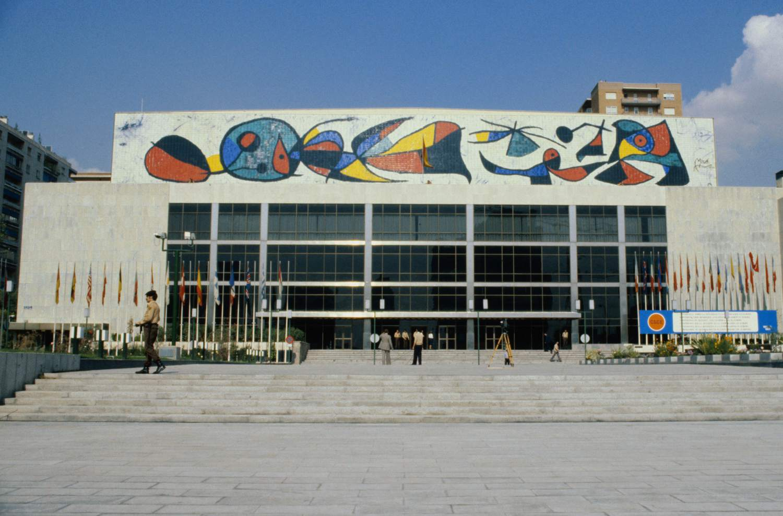 Joan Miró Mural