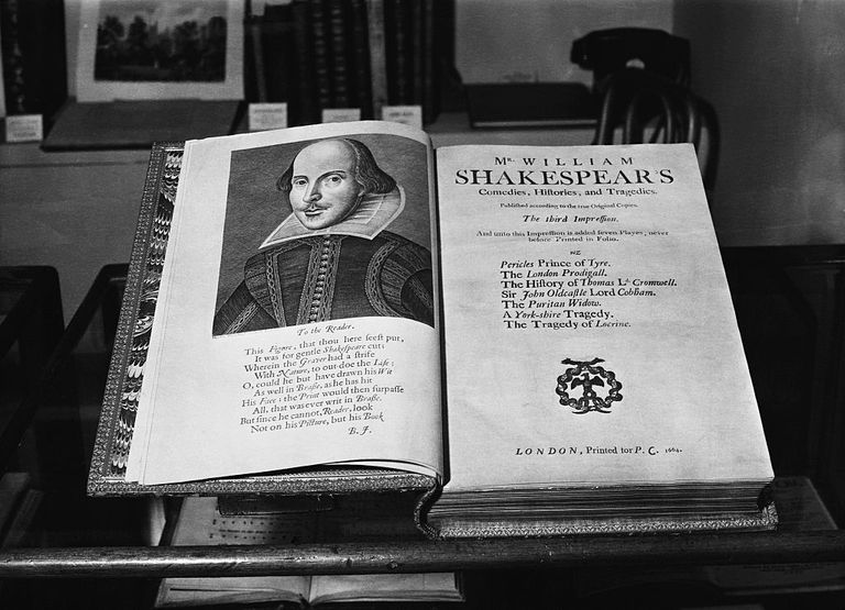 Folio of Shakespeare's Plays