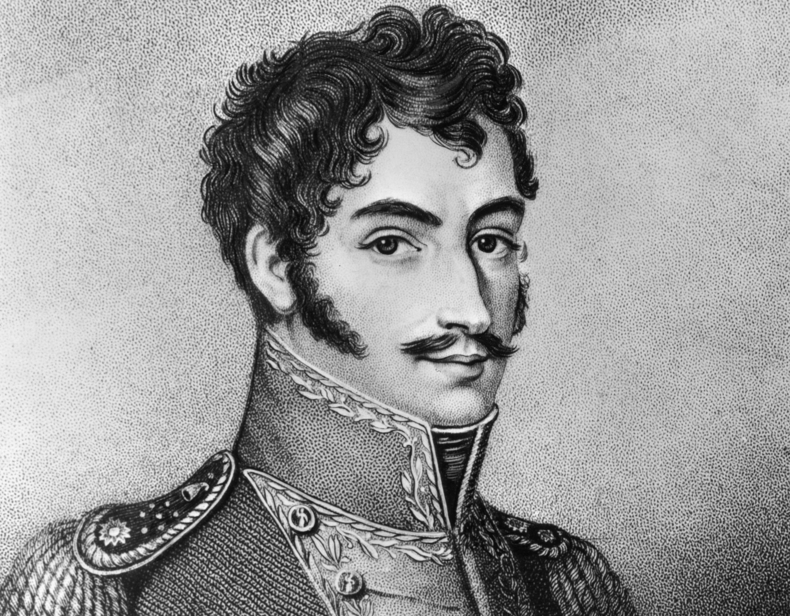 South American revolutionary leader Simon Bolivar