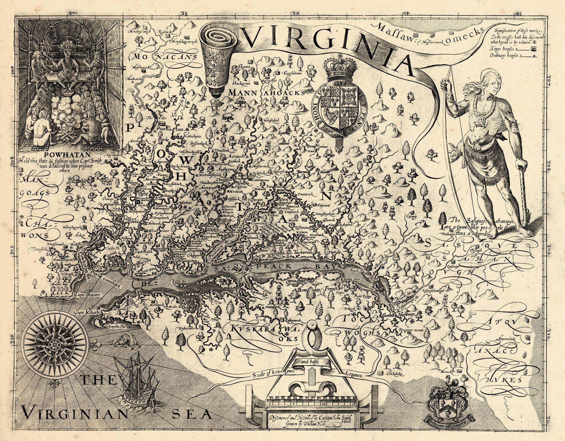Virginia, 1606, Jamestown Described By Captain John