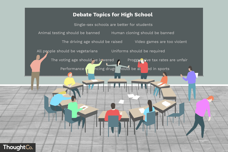 fun debate topics for high school students