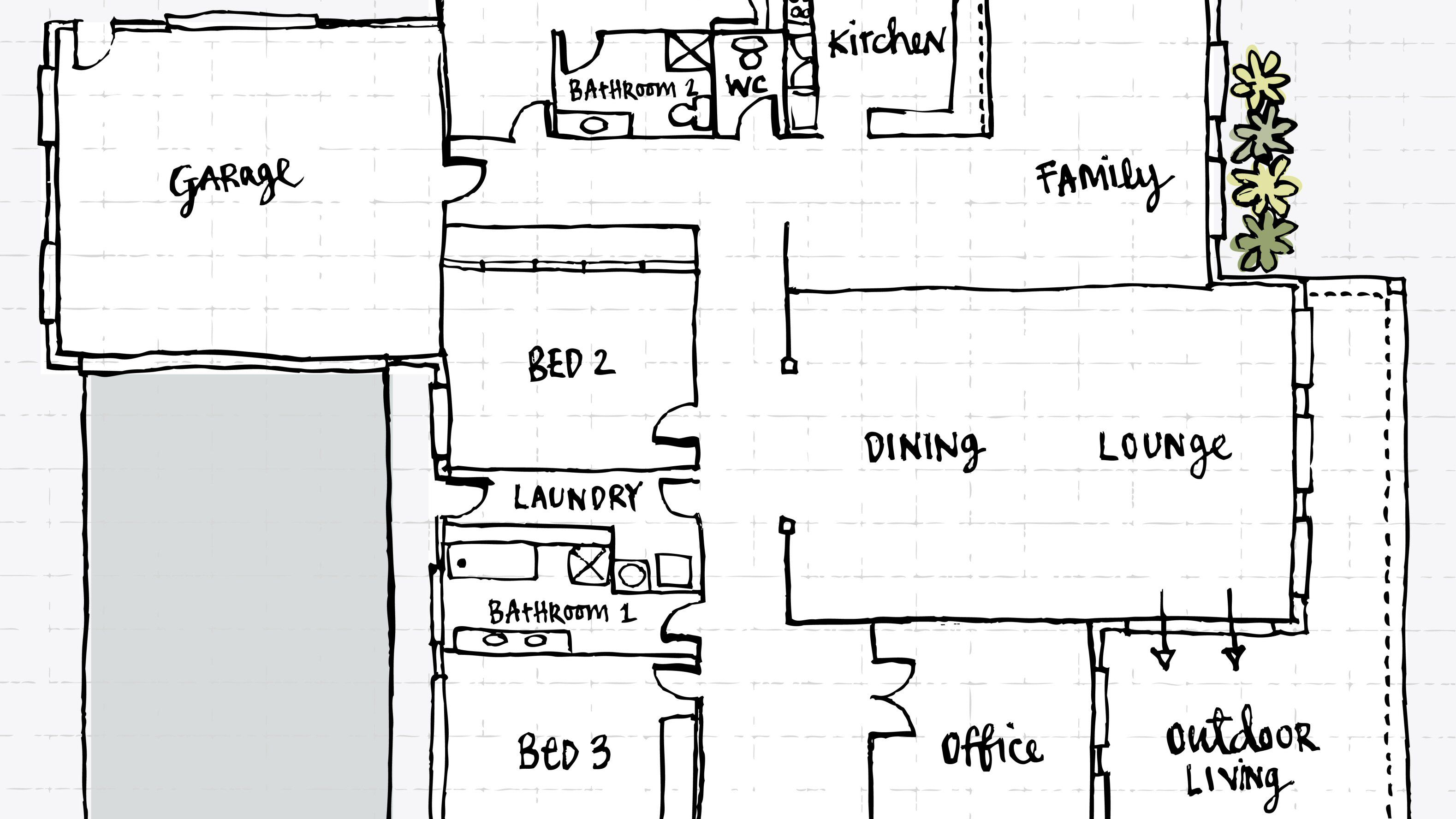 A Floor Plan And Can You Build House