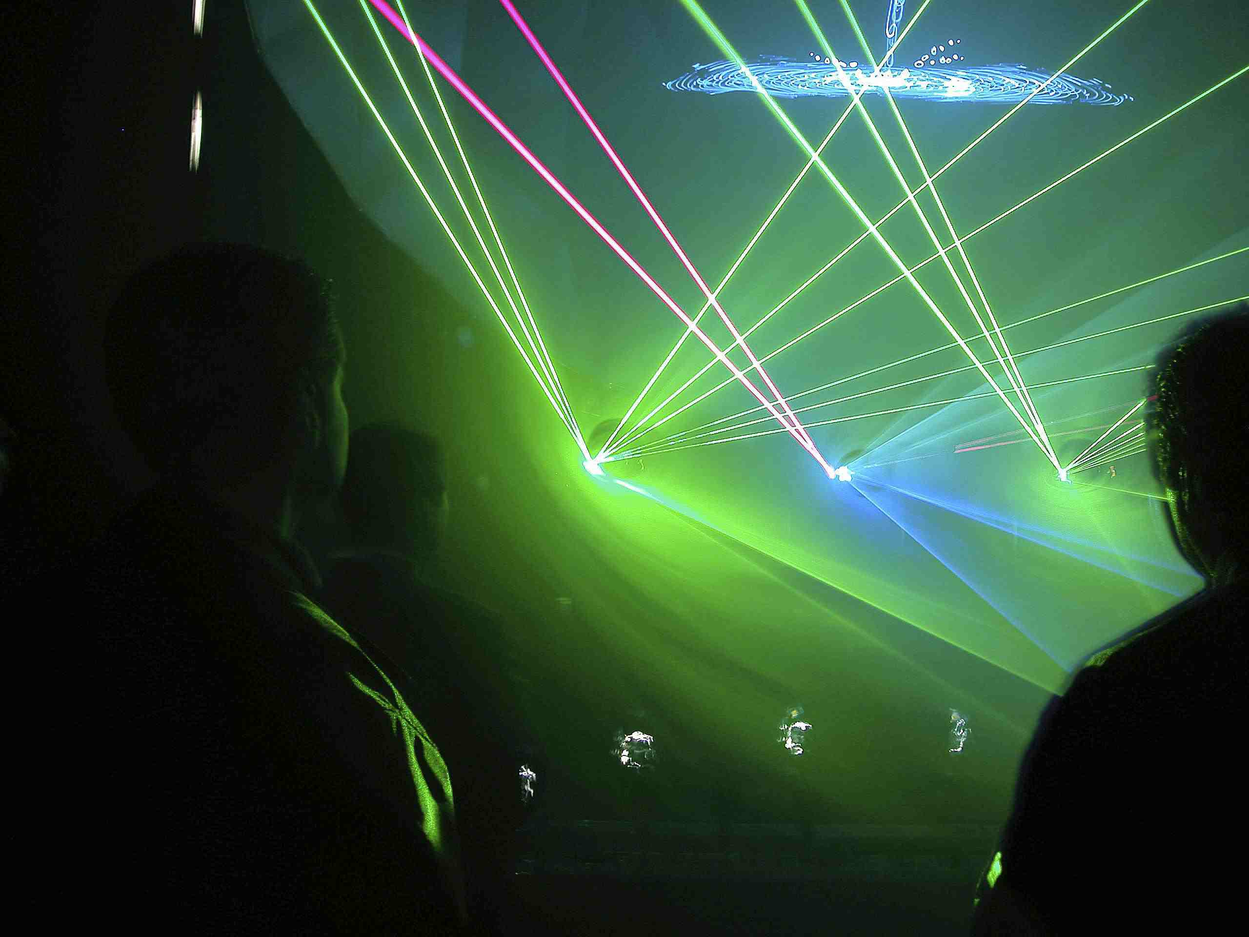 Fog and lasers turn any glow party into an epic glow party.