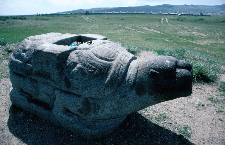 Karakorum's Stone Turtle