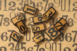 Numbers and sampling