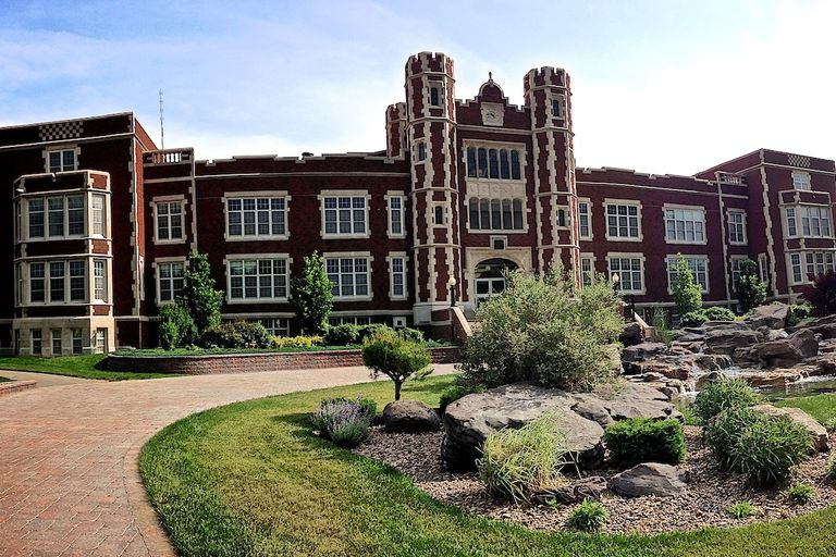 Kansas Wesleyan University Pioneer Hall