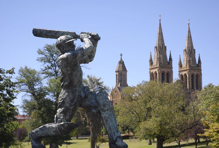 Sir Donald Bradman Cricket legend, Adelaide