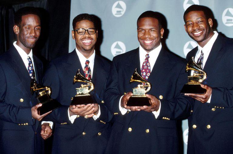 Boyz II Men at the 35th Annual GRAMMY Awards