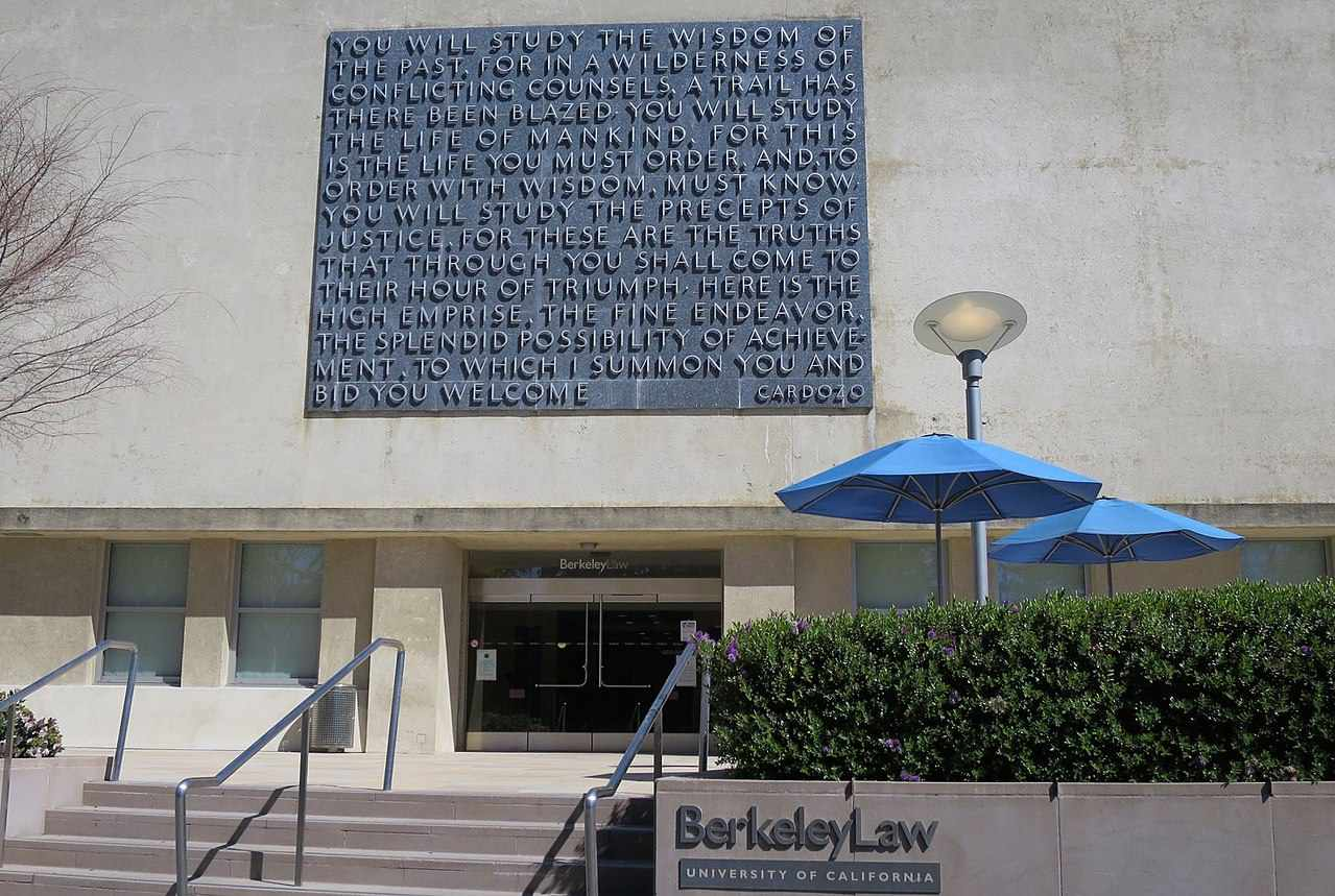 Boalt Hall, University of California Berkeley Law School