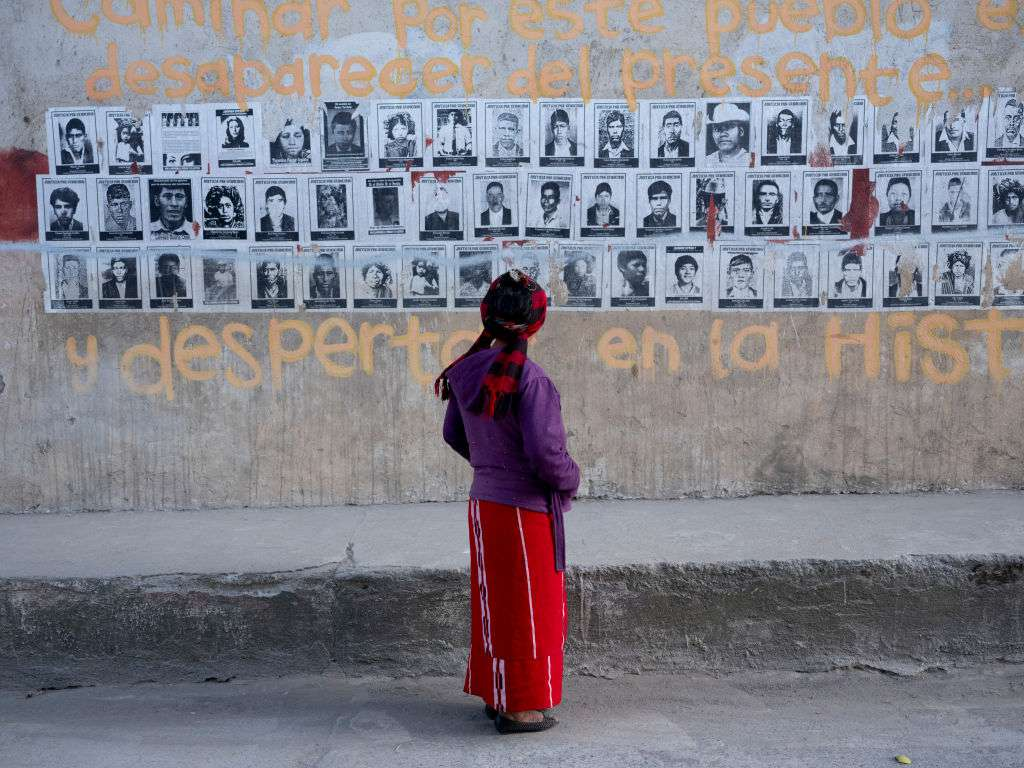 Wall Of Disappeared Guatemalans
