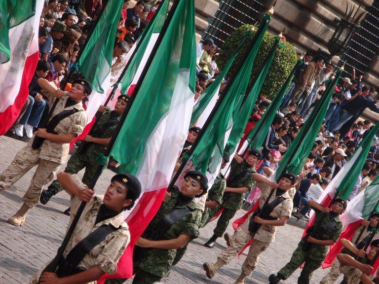 Sept. 16 parade in Mexico