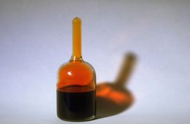 Bromine is the only halogen that is a liquid at room temperature and pressure.