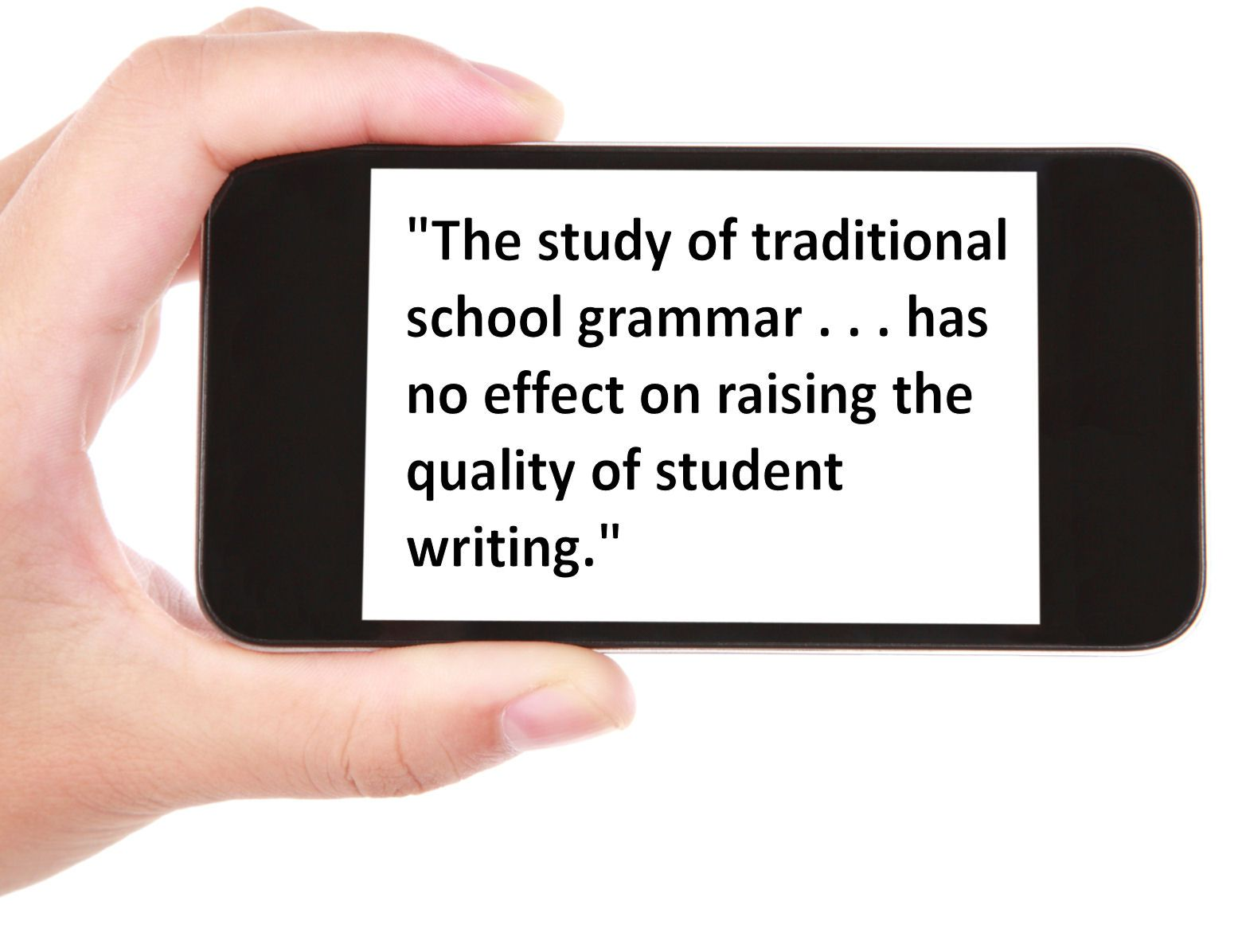 Traditional School Grammar Definition And Examples