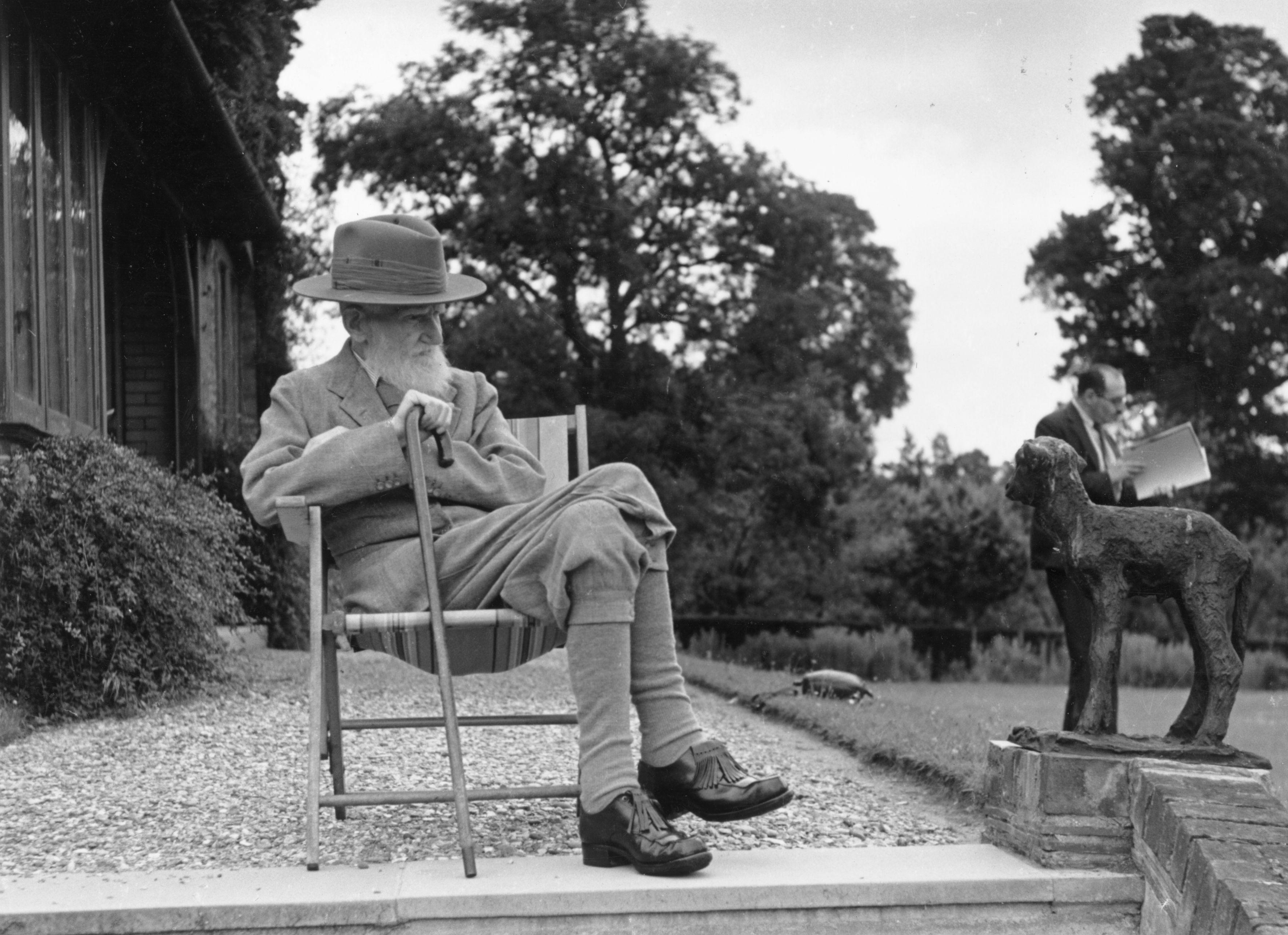 Bernard Shaw at 90