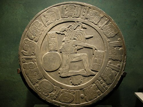Ball Player Disc - From Chinkultic, Chiapas