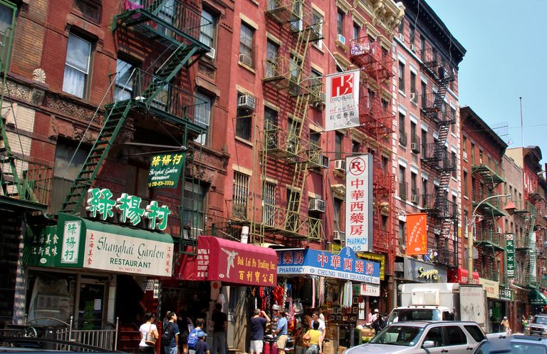 Manhatten's Chinatown, New York, NY, USA