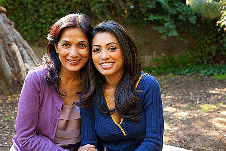Hindu Indian Mother Daughter