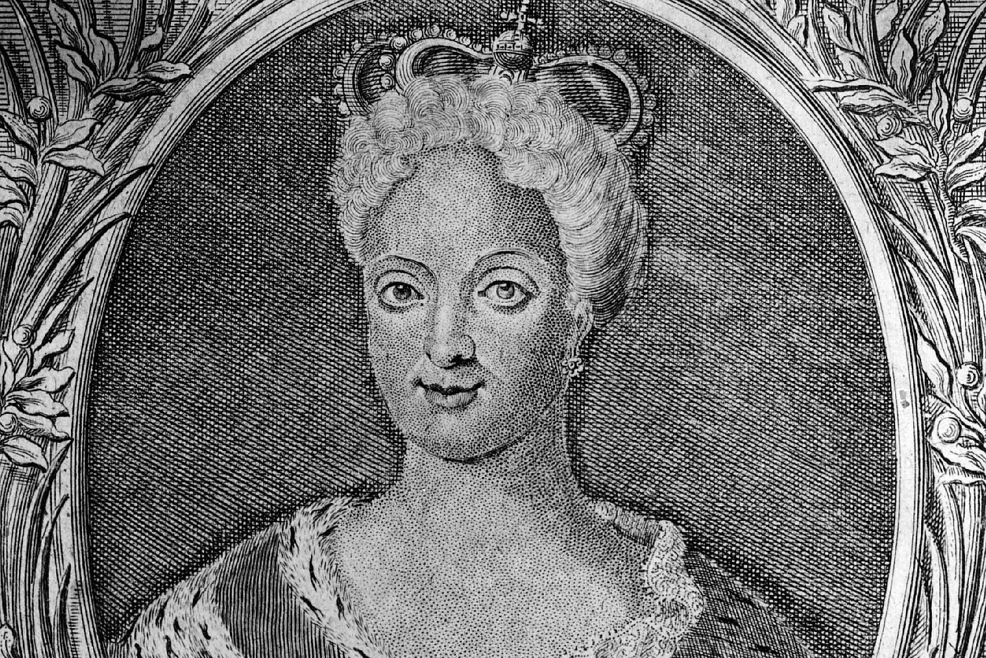 Maria Anna Josefa Antoinette of Austria, Queen of Portugal, about 1730