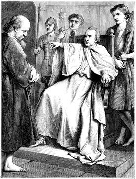 Polycarp before the Roman Proconsul